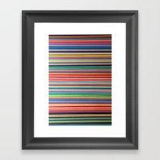 STRIPES23 Framed Art Print