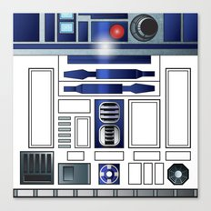 Shiny New Droid Canvas Print