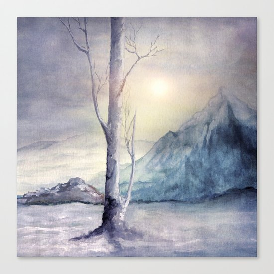Winter Melody Canvas Print