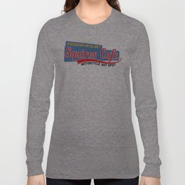 Squires Motorcycle Cafe Long Sleeve T-shirt