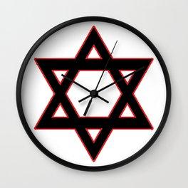 Jew Boy Vs. Reaper Man Wall Clock