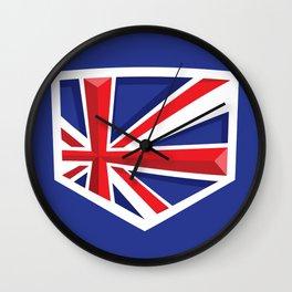 Montgomery Brits Logo Wall Clock