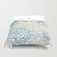 doodle Duvet Covers featuring Doodle by Allie at Shed63