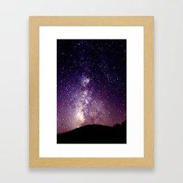 Purple-ish Framed Art Print