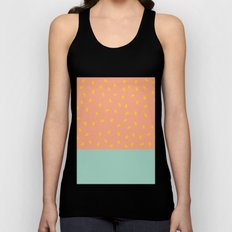 Peach Fuzz and Pit Unisex Tank Top