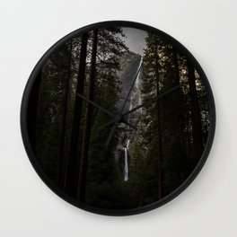 Yosemite Falls Wall Clock