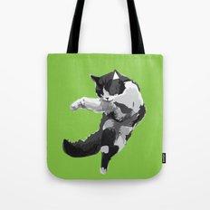 Dancing Cat Tote Bag