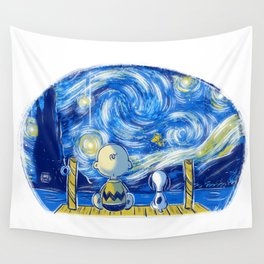 Friends of stars Wall Tapestry