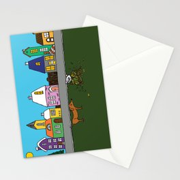 Sausage Town Stationery Cards