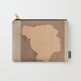 Paper portrait Carry-All Pouch