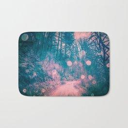 Pink Magical Path Bath Mat