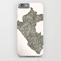 Lettering map of Perú Slim Case iPhone 6s