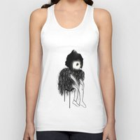 clown Tank Tops featuring Clown by Maude Cournoyer