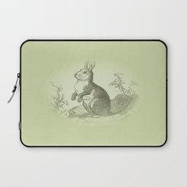 Bunny Rabbit {soft sage green} Laptop Sleeve