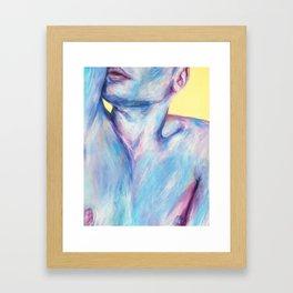 Rubber Band Framed Art Print