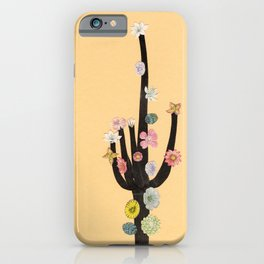 Flowering Cactus iPhone Case
