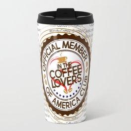 Coffee Lovers of America Club by Jeronimo Rubio 2016 Travel Mug