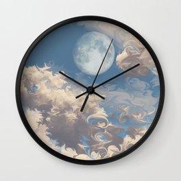 Moonrise (Cloud series #8) Wall Clock