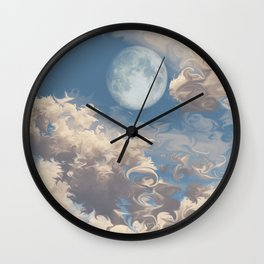 Moonrise (Cloud series #8) Wall Clock