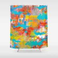 western Shower Curtains featuring Western Mind by WILLING
