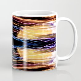 Colorful bright lights at night 2 Coffee Mug