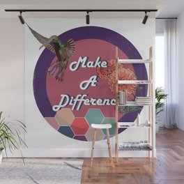 Make a Difference Wall Mural