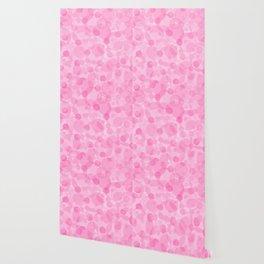 Pink Bubbles 1 Wallpaper
