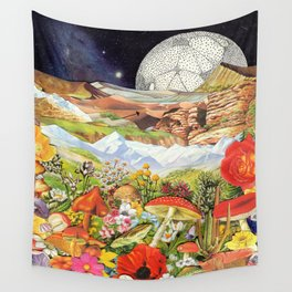 Shrooms Wall Tapestry