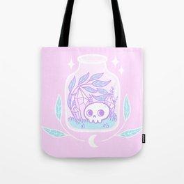 Pastel Terrarium / Pink Tote Bag