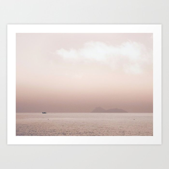 Serene Seascape Art Print