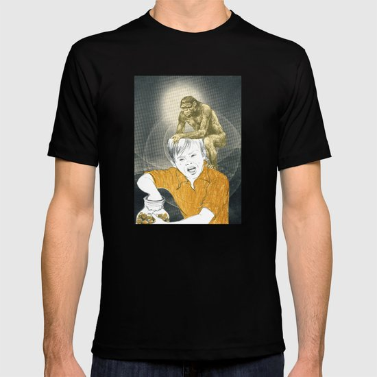 Who's The Monkey, In This Monkey World ? T-shirt