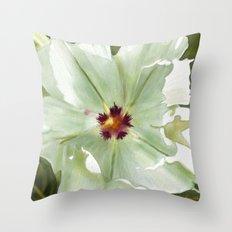 Flower Three Throw Pillow