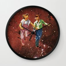 We spent most of our childhood lost in space. Wall Clock