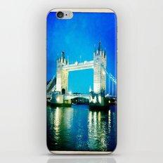 I love Tower Bridge iPhone & iPod Skin