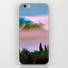 Mountains - Mt. Hood Pink Sunset iPhone & iPod Skin