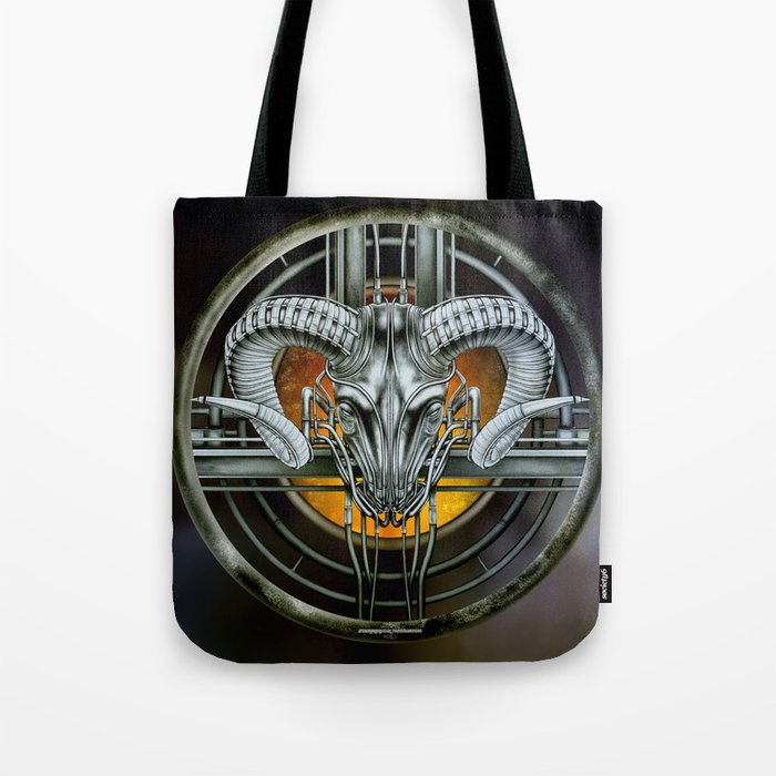 """Astrological Mechanism - Aries"" Tote Bag"