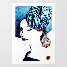 christina hendricks Art Print