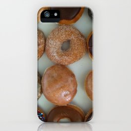 Doughnuts iPhone Case