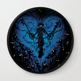 Heartless Wall Clock