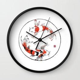 Koi, Halo Collection Wall Clock