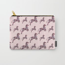 African pink zebras Carry-All Pouch