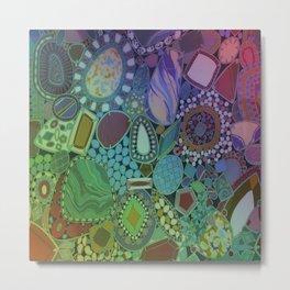 Colorful Patterns Metal Print