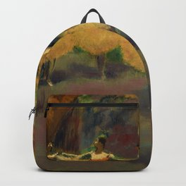 "Edgar Degas ""Before the performance"" Backpack"