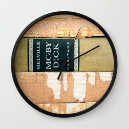 Moby Dick (or The Whale)  Wall Clock