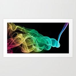 Smoke 3 Art Print