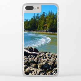 Tofino, Vancouver Island BC Clear iPhone Case
