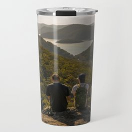 Looking toward Berowra Creek from Muogamarra Nature Reserve, Sydney Travel Mug