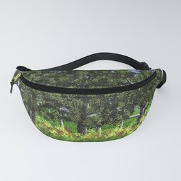 Trees Shading Flowers Fanny Pack