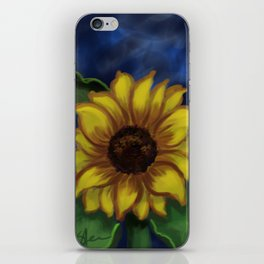 Dramatic Sunflower DP141118a iPhone Skin