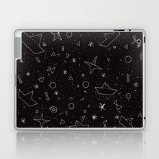 Paper boats pattern Laptop & iPad Skin